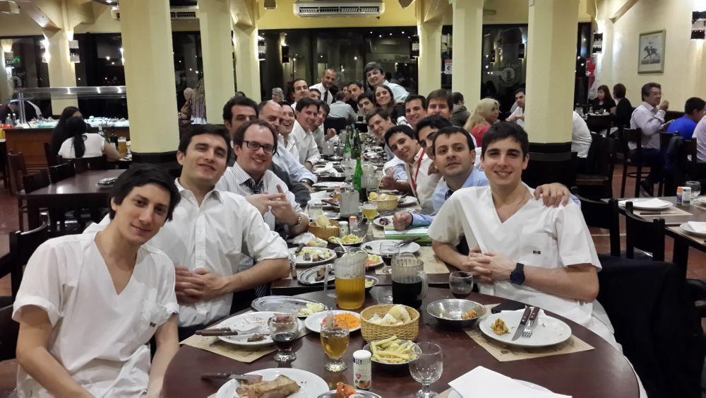 Reunión del congreso en Puerto Madero.