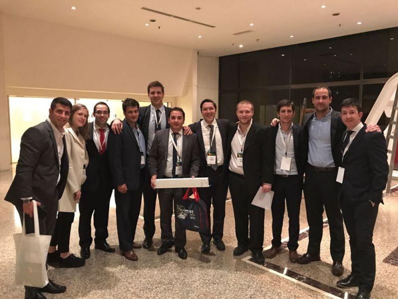 Primer premio al Mejor Trabajo científico Congreso Argentino de Cirugía 2017